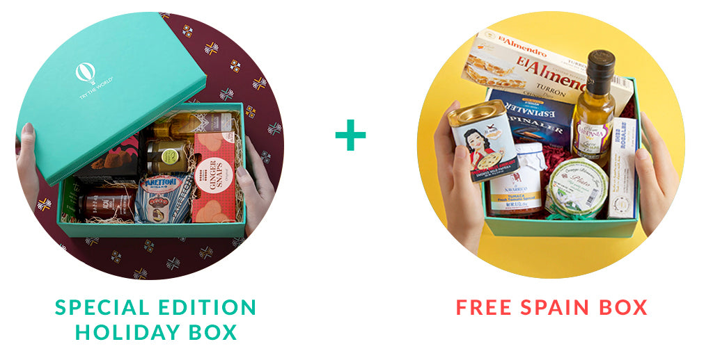 Try The World Subscription Box...