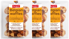 Belgian Waffles (3 packs of 4 pieces)