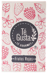 Frutos Rojo Tea in wooden box 70g