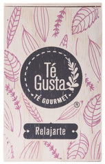 Relajarte tea in wooden box 70g