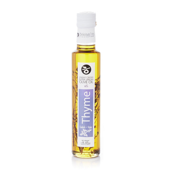 Olive Oil Infused with Thyme 250ml