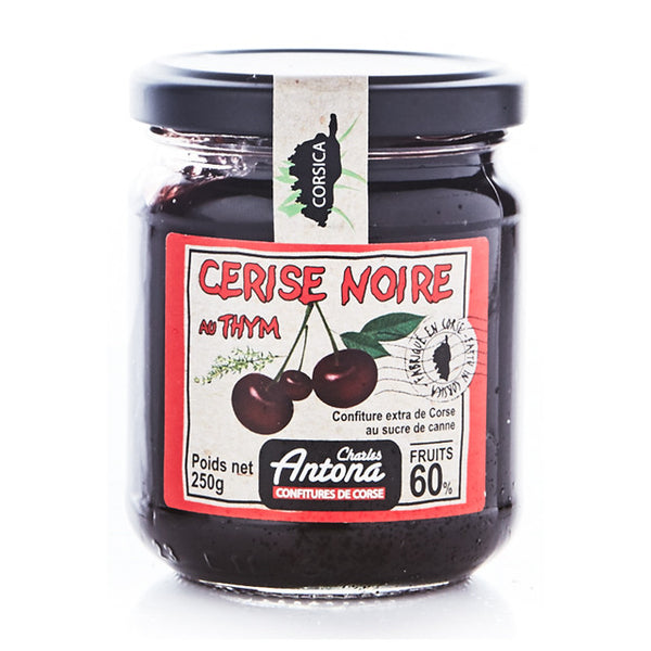 Black Cherry and Thyme Jam