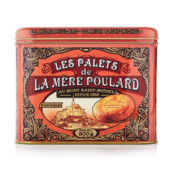 Palets Butter Cookies in a Large Tin