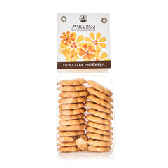 Flower-Shaped Almond Cookies