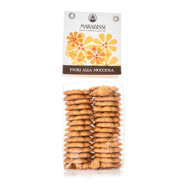Flower-Shaped Hazelnut Cookies