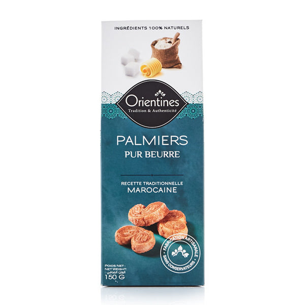 Palmiers Butter Cookies