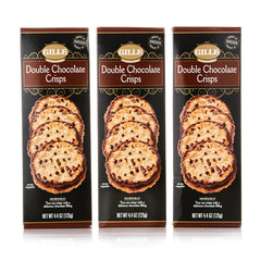 Double Chocolate Crisps (Pack of 3)