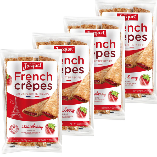 Strawberry Crepes (4 packs of 6)