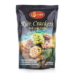 Spicy Rice Crackers