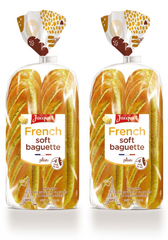 Soft Baguette (2 packs of 4)
