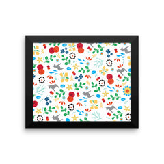Swedish Framed Graphic Poster (Matte)