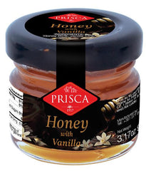 Honey with vanilla