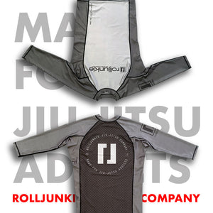 instinct gray bjj rash guards
