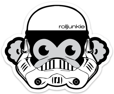Storm Trooper Monkey BJJ Sticker