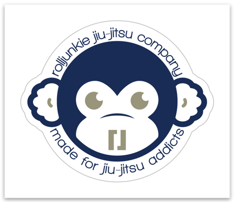BJJ Sticker Monkey