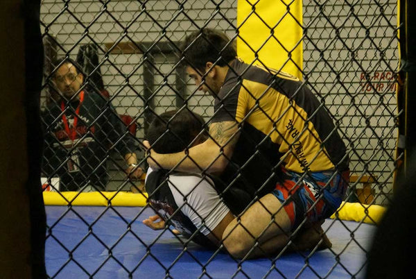 Submission Cage Grappling Event Photo