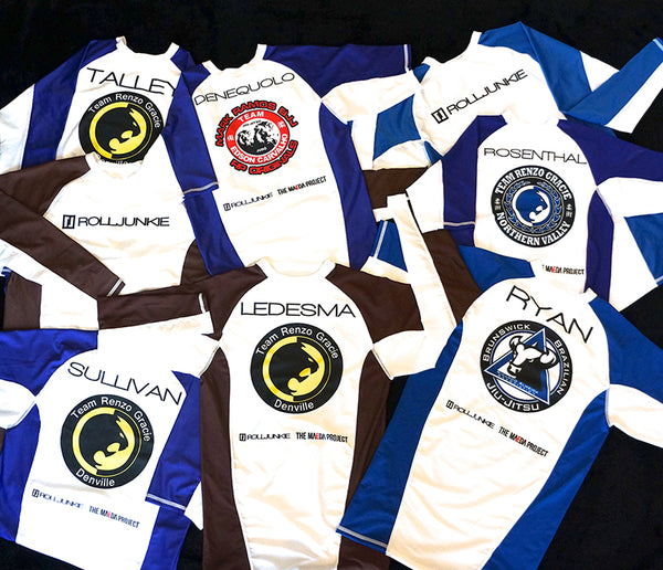 IBJJF Custom Rank Rash Guards