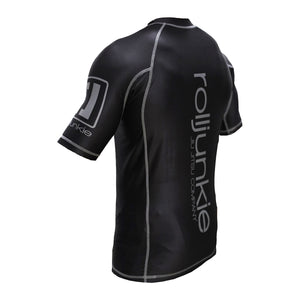 Kids Shadow Short Sleeve BJJ MMA Rash Guard