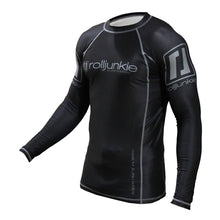 black jiu jitsu rash guard