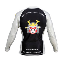 samurai BJJ rash guard