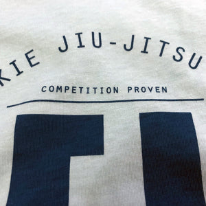 cool blue bjj shirt