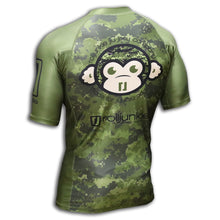 bjj rash guard dust off back