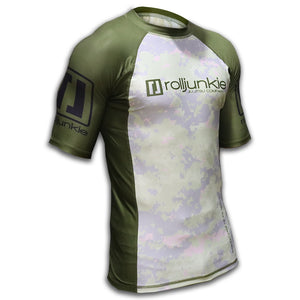 bjj rash guard dust off