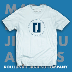 blue stylish bjj shirt