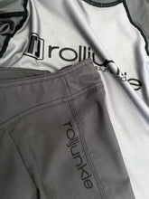 Slim fit gray bjj shorts