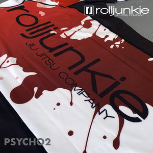 bjj rash guard sublimation back