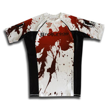 bjj rash guard blood splatter