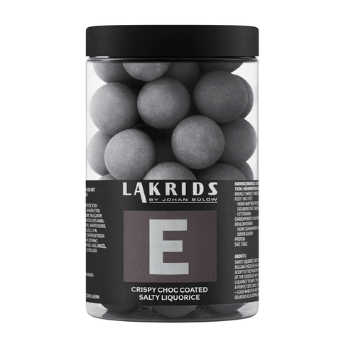 BIG E – Crispy Choc Coated Salty Liquorice