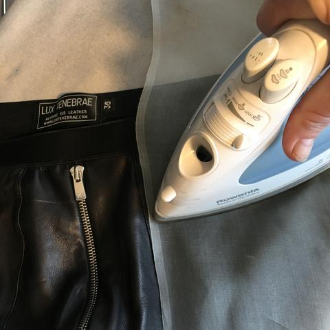 How to Iron Leather