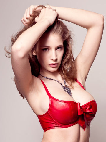 Zip Line Harness >> Beautiful Leather Bras that fit. - Lux Tenebrae