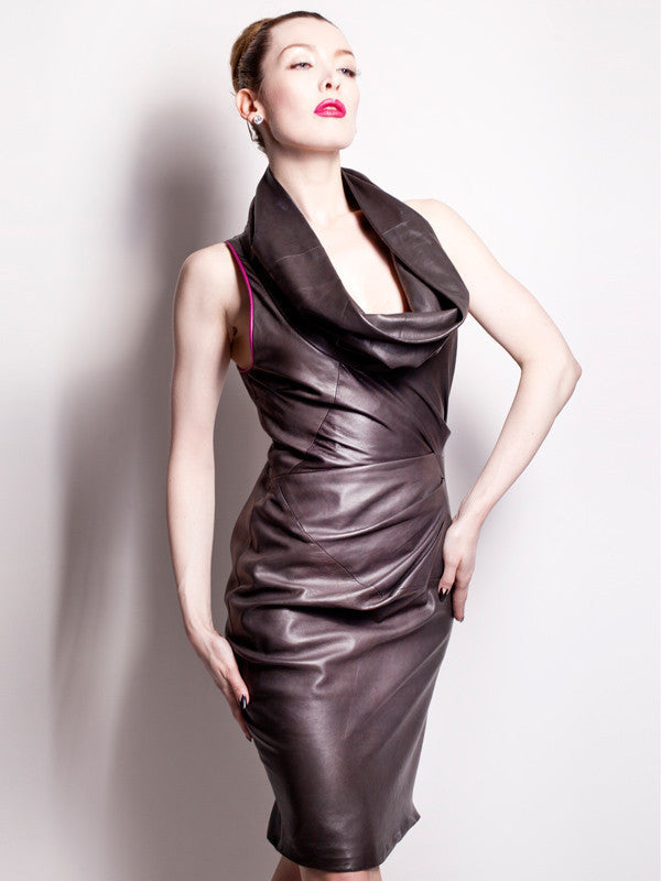 Leather Martini Dress From Our Range Of Chic Leather