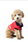 Shop stylish dog polo shown on model