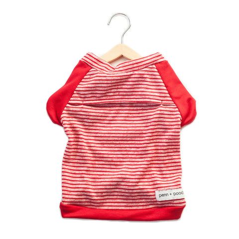 the babe - candy cane stripe
