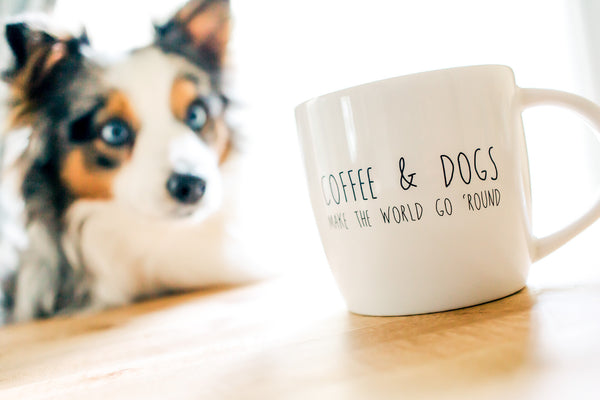 Coffee And Dogs Mug Penn Pooch
