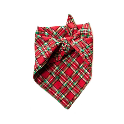 the henry - red plaid