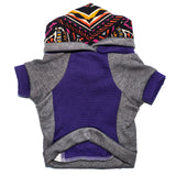the emerson hoodie - multi + indie ikat