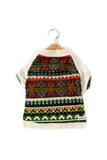 Quality dog clothes in fair isle print