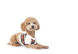 Stylish dog shirt in fair isle print