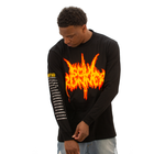 Soul Runner by Tyreek Hill Champion Tour Premium Long Sleeve Black Tee