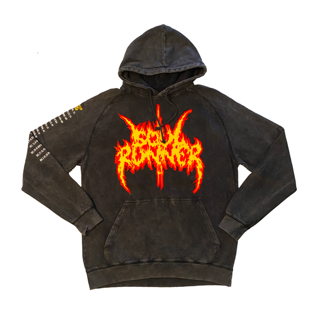Soul Runner by Tyreek Hill Champion Tour Black Mineral Wash Hoodie