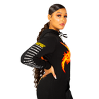 Soul Runner Champion Tour Women's Black Hoodie Dress