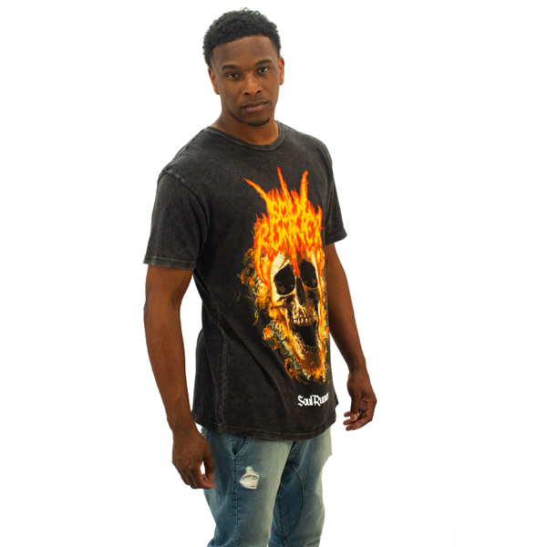 Soul Runner by Tyreek Hill Champion Tour Black Mineral Wash Tee