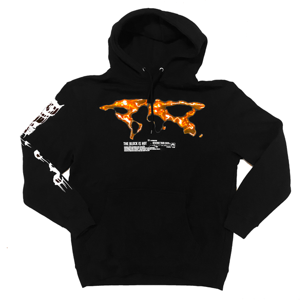 "The Block Is Hot by Kwon Alexander ""Revenge Tour"" Premium Black Hoodie"