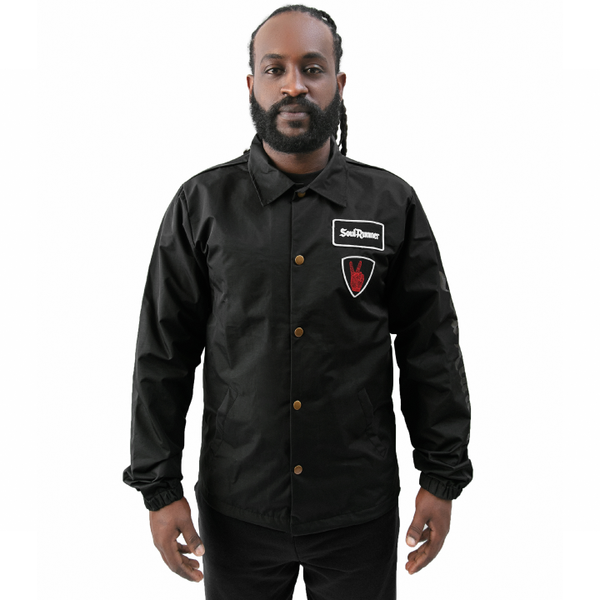 Soul Runner Black Coach Jacket