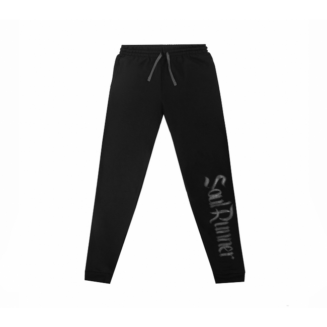 Soul Runner Black On Black Joggers