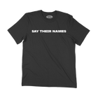 Soul Runner Say Their Names Black Premium Tee Shirt